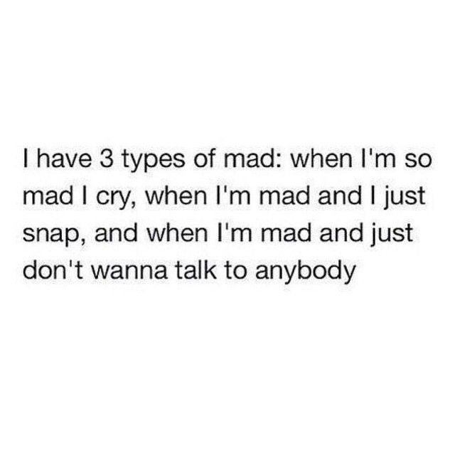 3 types of mad