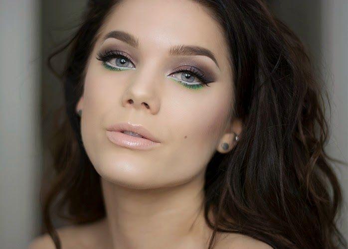 KoloDIY Beauty: Макияж глаз: тонкая яркая линия
