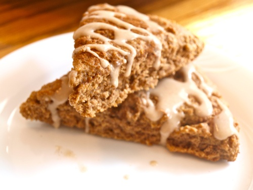 cinnamon roll scones! | Breakfast... | Pinterest