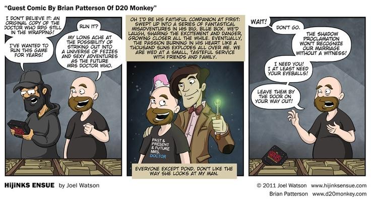 ha!Geek, D20 Monkeys, Guest Comics, The Bride