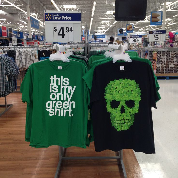 St.Patrick's Day T-Shirts. Sold at Walmart (posted by ...