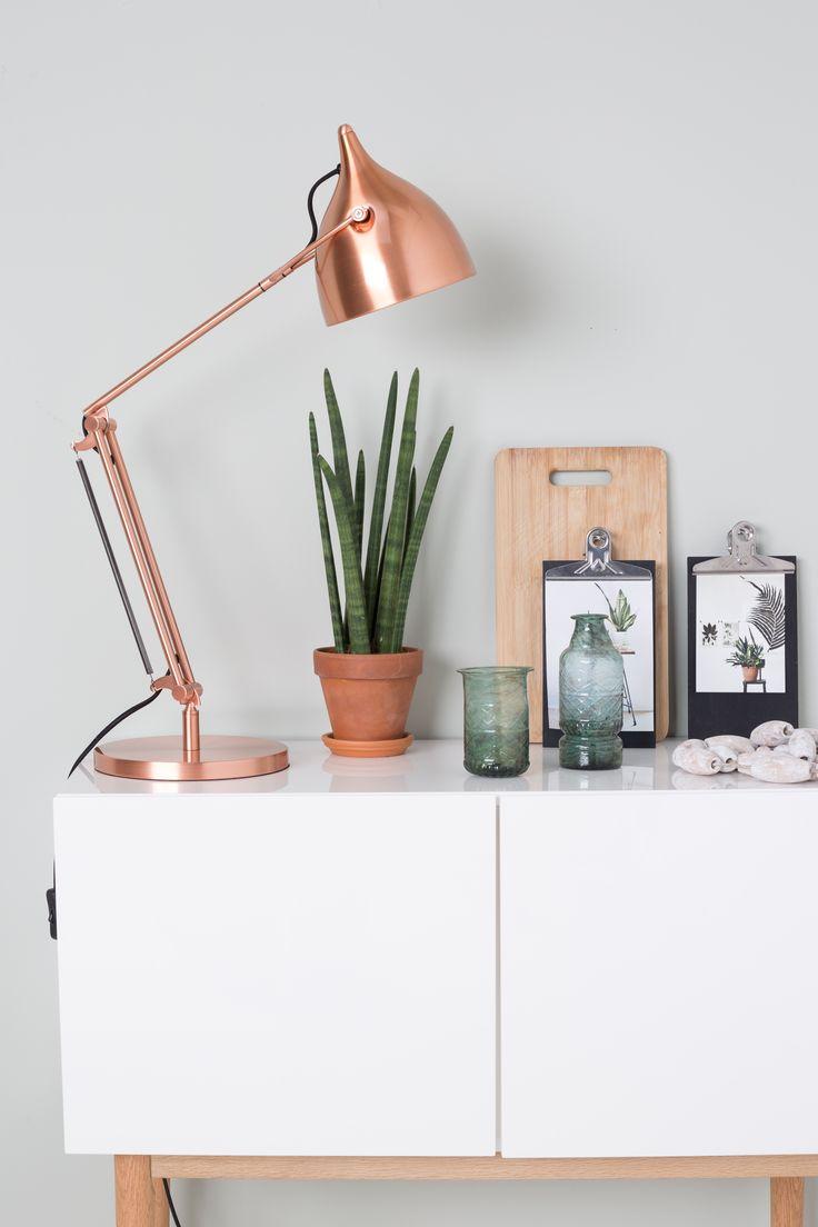 bureaulamp koper  Zuiver