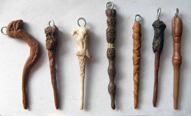 Harry+Potter+pendants:+wand+set+by+EerieStir.deviantart.com+on+@deviantART