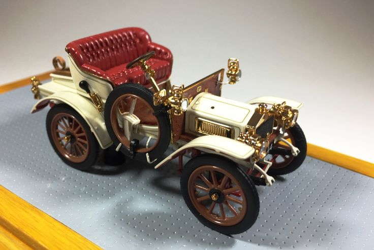 Ilario IL43101 1/43 Rolls Royce 10hp 1904 sn200154 Original Car