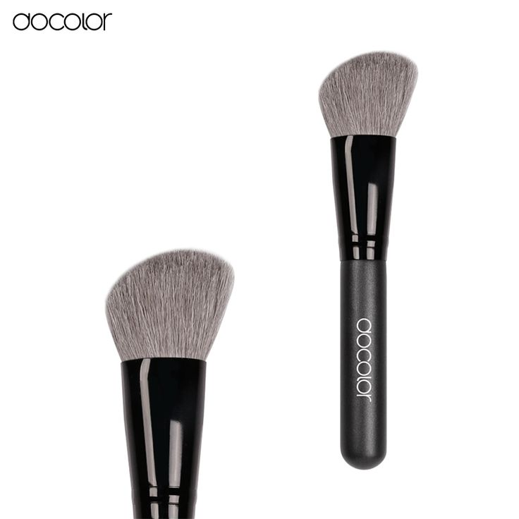 Big Promotion! Docolor  Angled Contour Brush Makeup Cosmetic Makeup Brush goat hair cheap make up Brush  free shipping