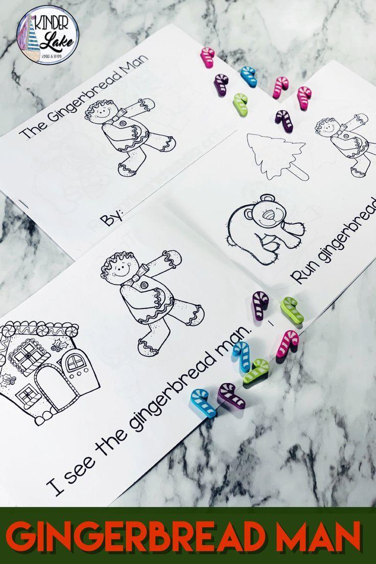 Gingerbread Man Mini Book Holiday Worksheets Gingerbread Man Mini Books [ 1104 x 736 Pixel ]