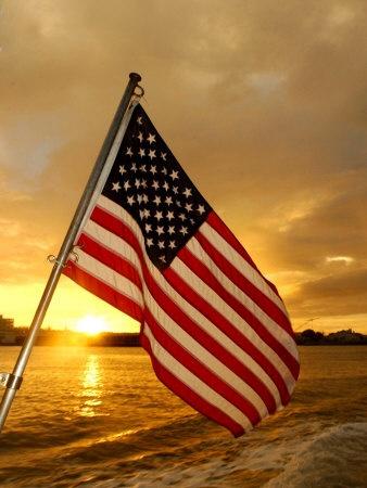 *Flag waving at Pearl Harbor~<3