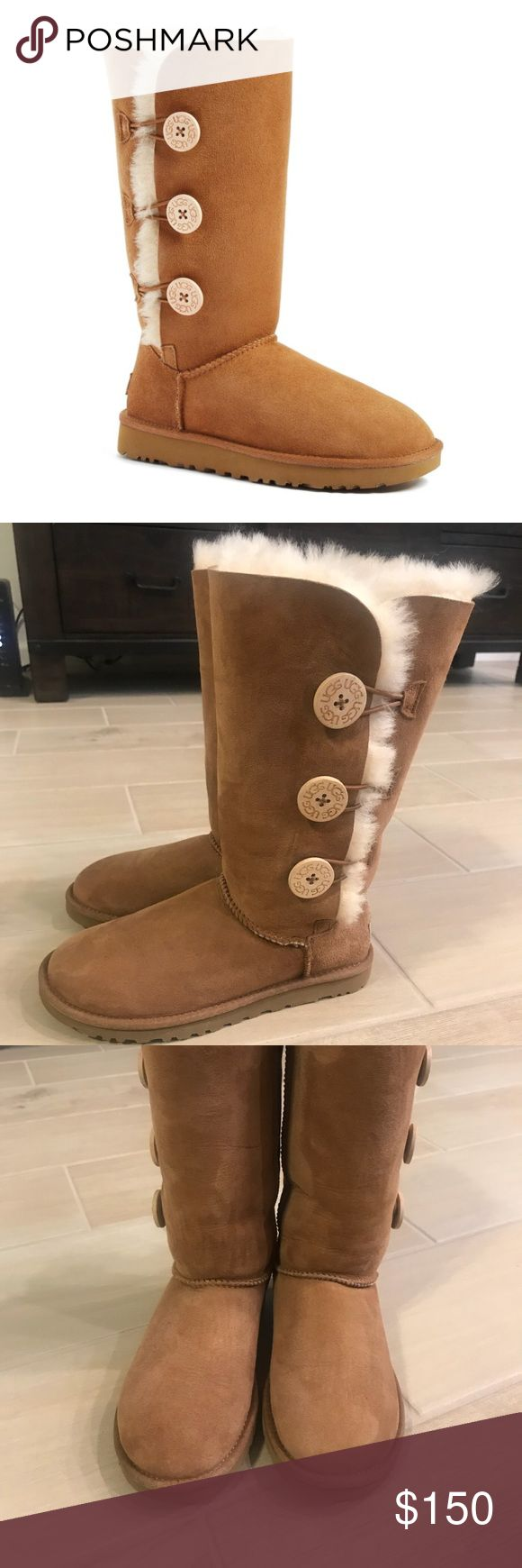 BRAND NEW UGG Bailey Button Tall Boots BRAND NEW UGG Bailey Button Tall Boots. Women's Size 5/Euro 36 UGG Shoes Winter & Rain Boots