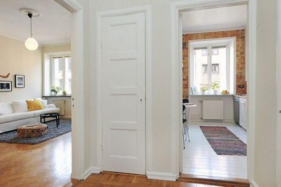 Apartament mic si delicat amenajat foarte practic