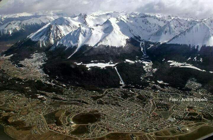 Área de Ushuaia TDF Argentina