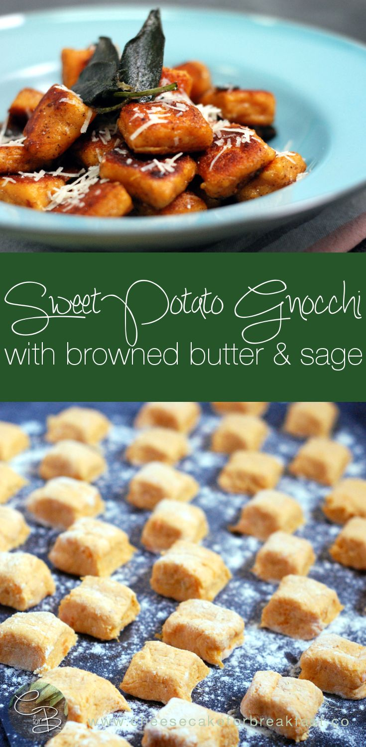 Chrissy Teigen's Sweet Potato Gnocchi Recipe | www.cheesecakeforbreakfast.co