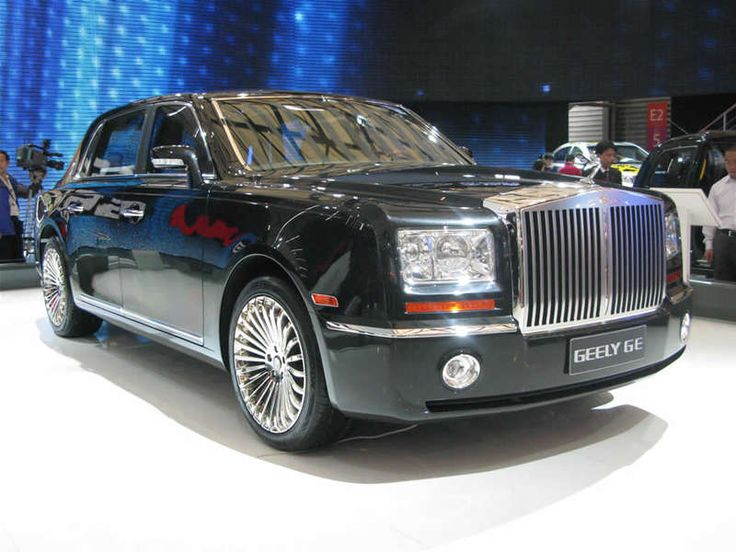 Rich Asians love big cars just like everybody else, so why shouldn't Geely offer an obvious knock-off of the Rolls Royce, called the Geely Excellence (GE) Limousine?