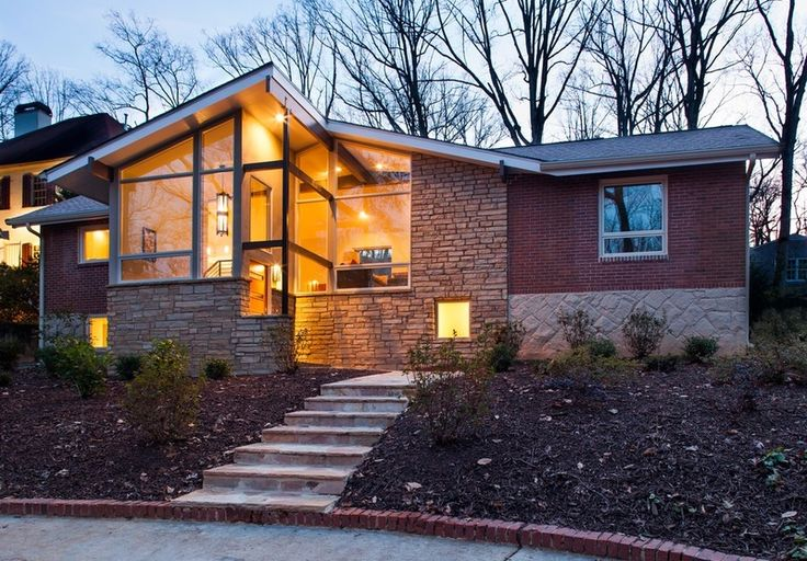 30 Best Images About Mid Century Modern Homes Atlanta On
