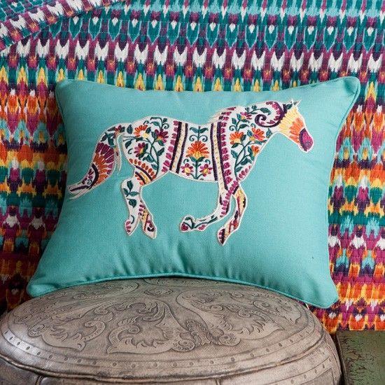 Running Horse Toss Pillow                                                                                                                                                                                 More