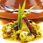 Een heerlijk recept: Tajine van kip met ui knoflook en ingemaakte citroen