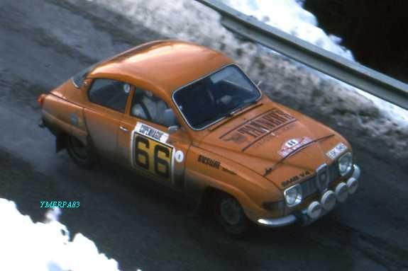 1977 Monte Carlo - Saab96 V4A Sigurdson & F Sager