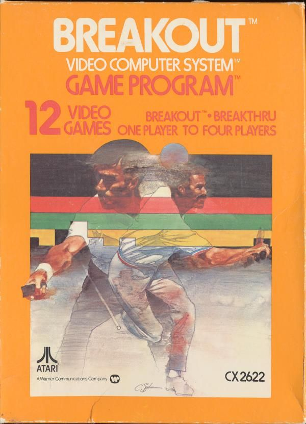 Breakout Video Computer System Game