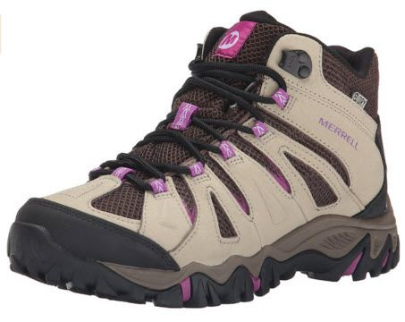 Merrell Women's Mojave Mid Waterproof Hiking Boot - Hiking Tip: Wear Good Hiking Boots