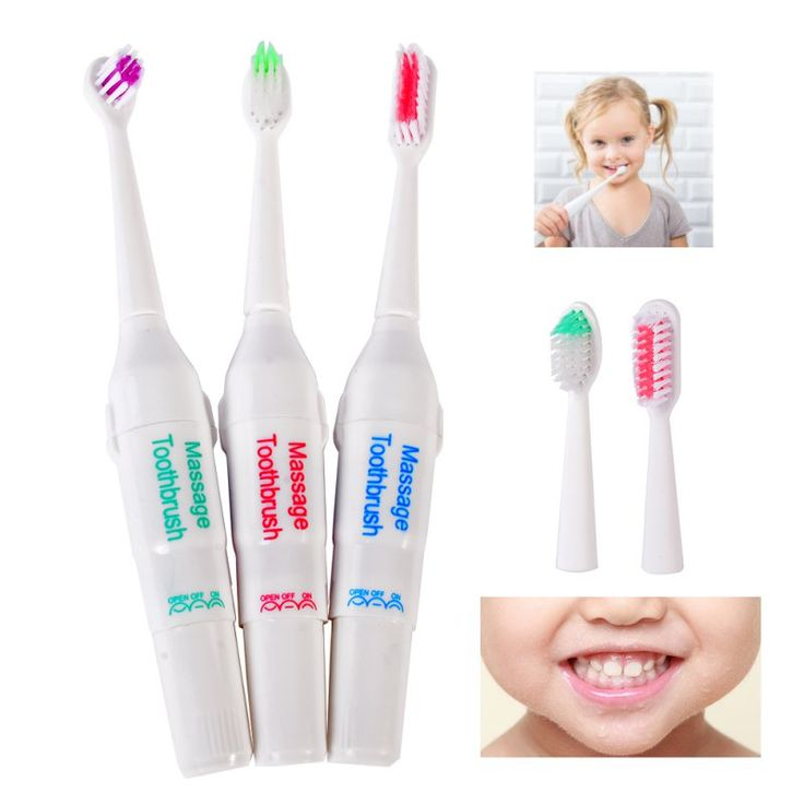 Battery Operated  Electric Toothbrush / Tooth Brush Electronic Toothbrushes For for Children Kids Oral Hygiene LY8 #Affiliate