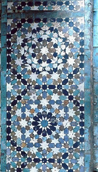 Pattern in Islamic Art - Mausoleum of Moulay Ishmael