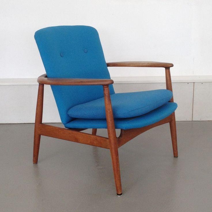 Lounge Chair | Arne Vodder for Bovirke | Mid Century Modern