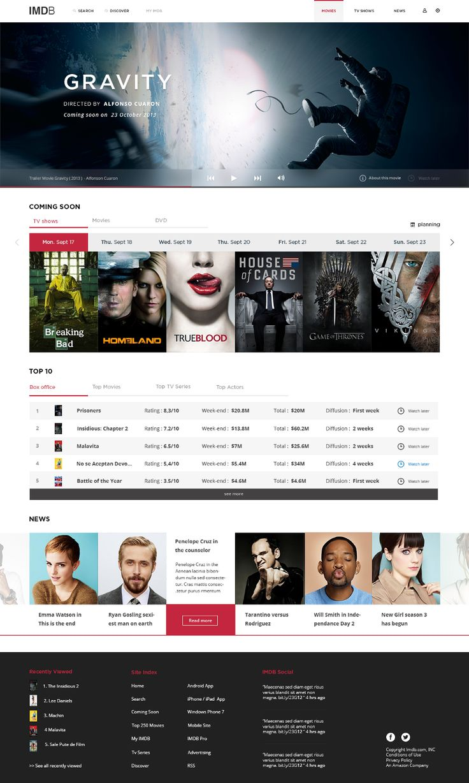 Redesigning IMDB — Creative, Product Design, Design Idea — Medium
