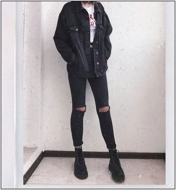 115 ways to look stylish wearing grunge outfits page 28 | homedable.com