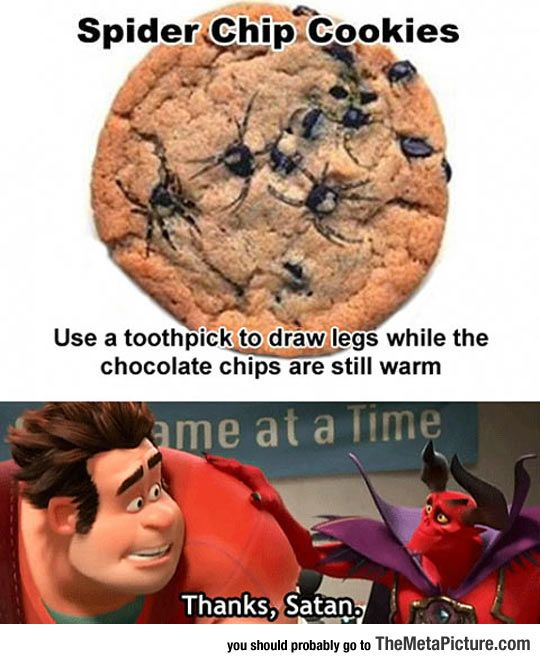 Arachnid Cookies