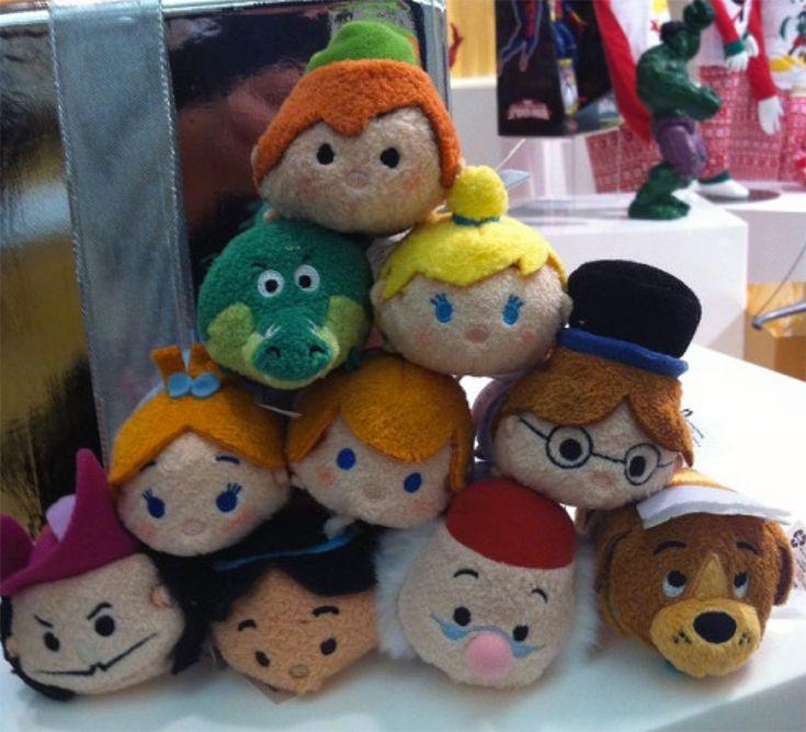 Peter Pan Tsum Tsum Collection Sneak Preview