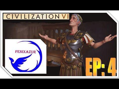 Civilization VI Gameplay  EP: 4 continua la gran guerra 5 vs 1