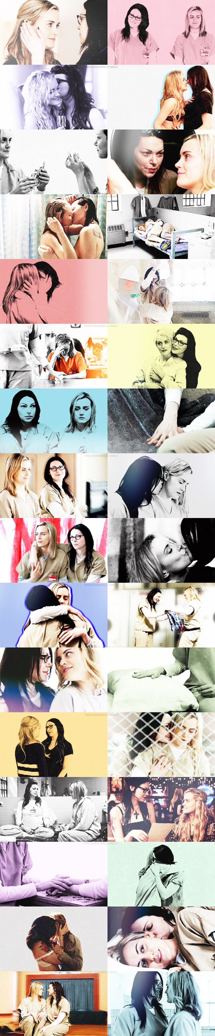 Vauseman - Piper Chapman - Alex Vause - Orange is the new black - OITNB