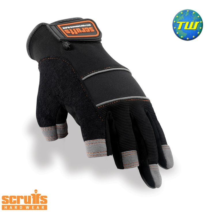 http://www.twwholesale.co.uk/product.php/section/10257/sn/Scruffs-3-Finger-T50877%20 Scruffs Precision Gloves have a 3 cut finger arrangement that supports your ability to focus on precise tasks including screwing and nailing.
