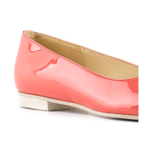 #CORAL FLAT COURT - 233_10 -----BALLERINA #CORALLO - 233_10 ----- #gala #wedding #ballerina #shoes