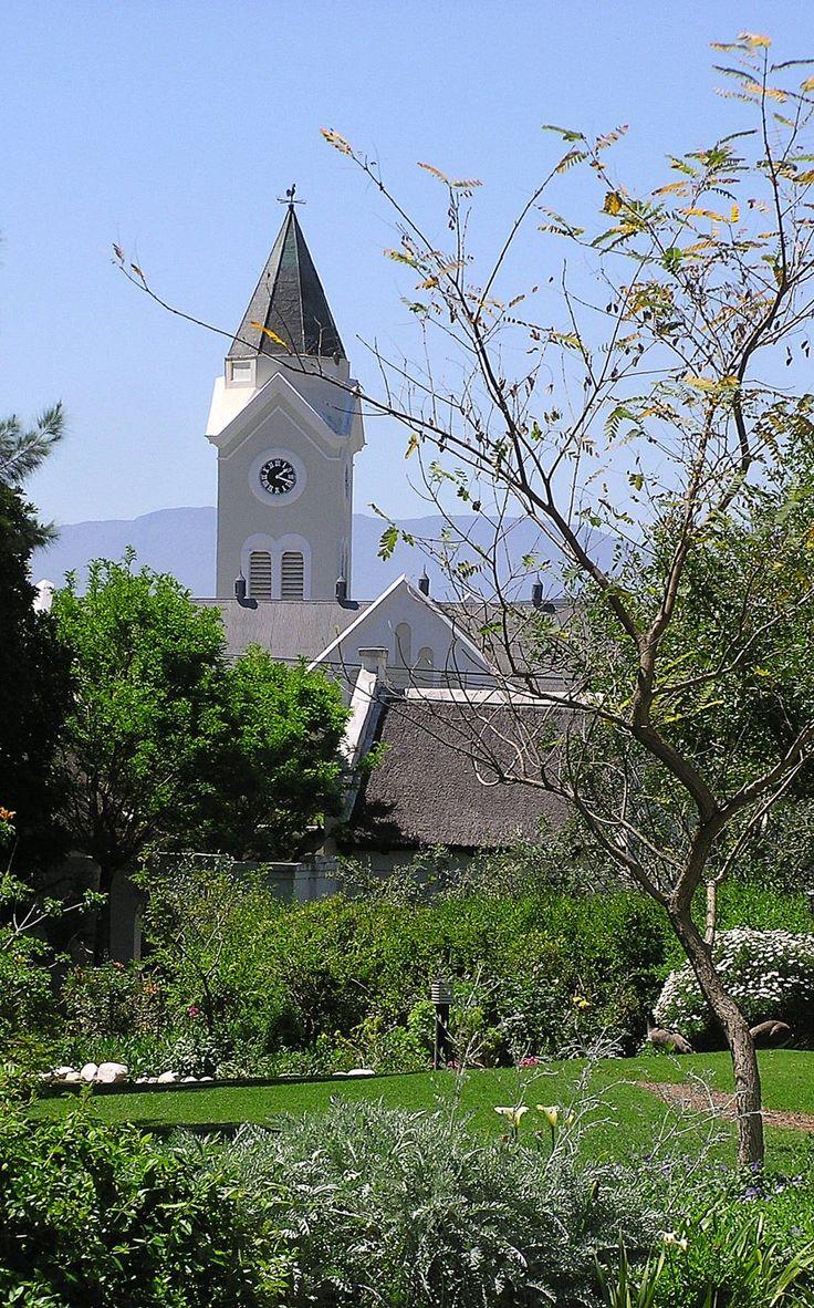 The Temenos garden is situated in the heart of McGregor