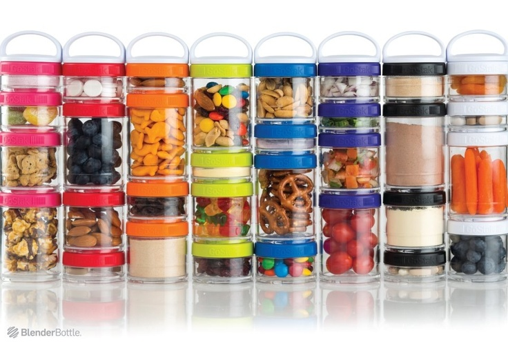 Blender Bottles Gostack! I would love these.