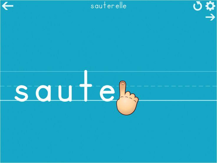 La Sauterelle Tactile un blog qui recense des appli pour enfants à besoin particuliers (mais pas que...)