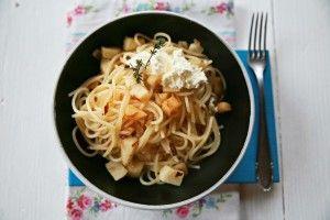 Špagety s petrželí