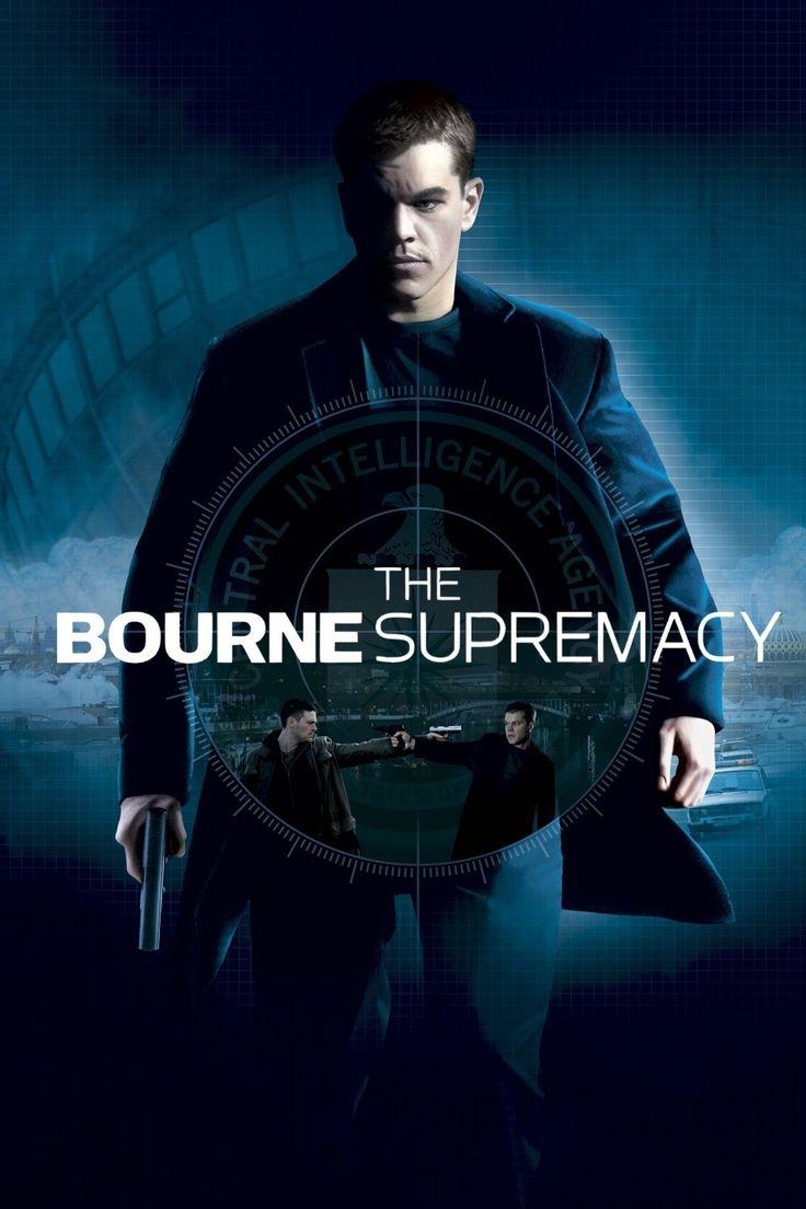 The Bourne Supremacy (2) ~ Matt Damon, Julia Stiles, Brian Cox, Joan Allen, Karl Urban, Tomas Arana, Michelle Monaghan, Karel Roden.