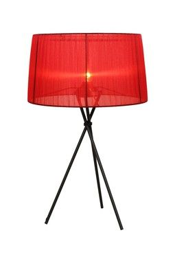 The Sticks Red Table Lamp