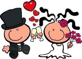 Mejores 23 imgenes de boda en Pinterest  Novios Boda y Dibujos