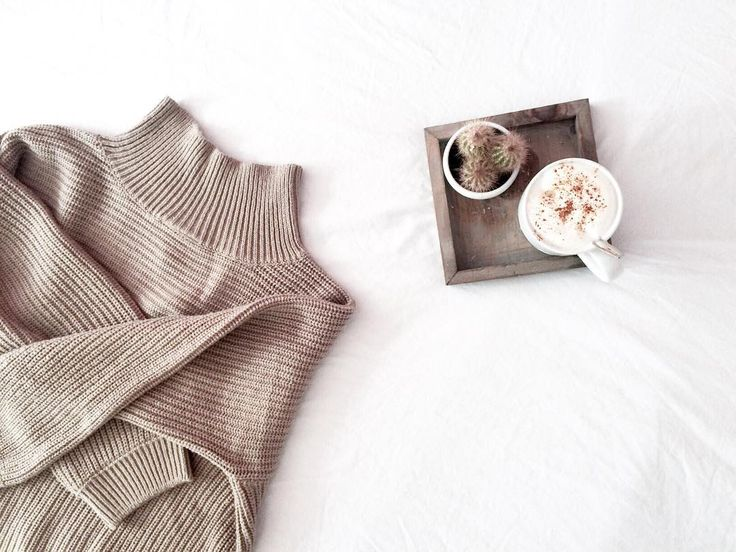 coffee and cozy knits -- perfect sundays