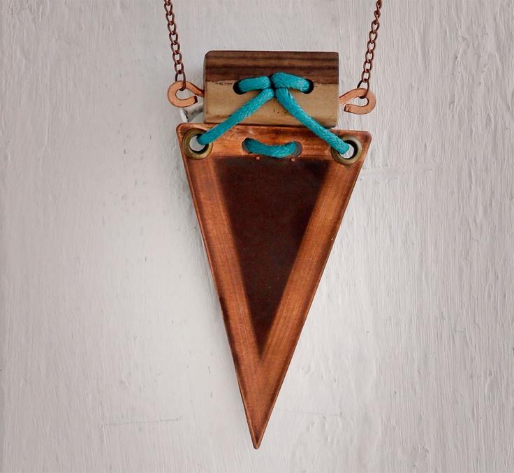 the perplexed genie pendant. $50.00, via Etsy.