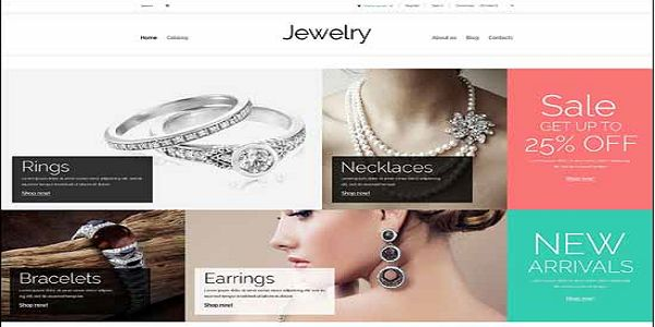This perfect, insignificant and level configuration was made for adornments, magnificence, mold and blessings locales. It comes stuffed with incredible elements that will help you set up an aggressive online store.