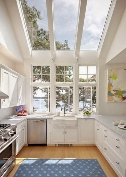 Enjoy the view and sunshine in your kitchen