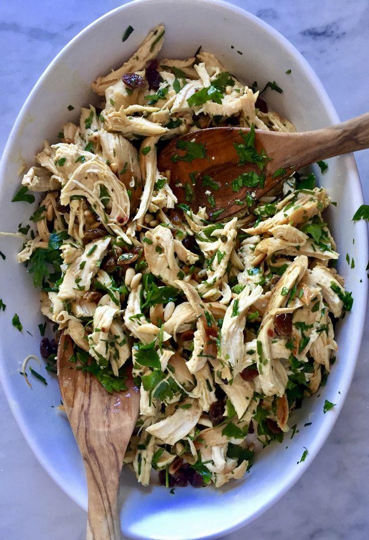 Chicken Salad, Mediterranean Style
