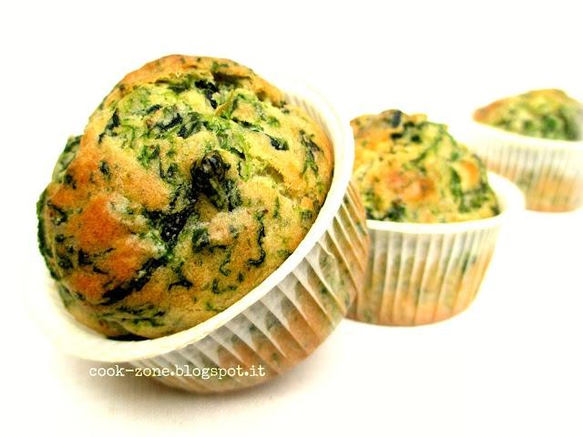 Spinach muffins - Muffins agli spinaci