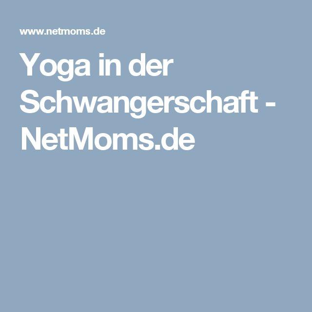 Yoga in der Schwangerschaft - NetMoms.de