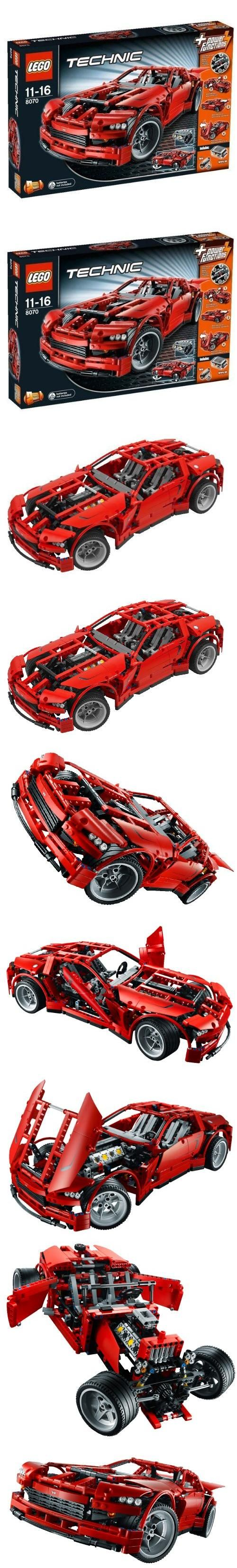 LEGO Technic Super Car (8070), LEGO Technic Set #8070 Supercar, #Toys, #Building Sets