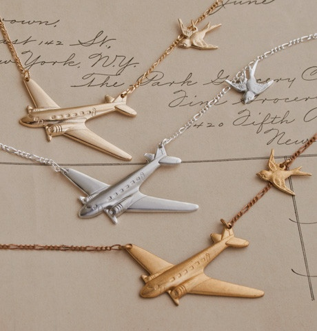 Winged Migration Necklaces