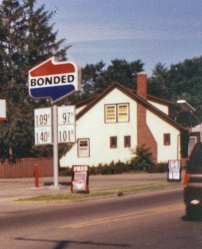 Bonded Gas Station We Had A Few Of These Around The 80 S